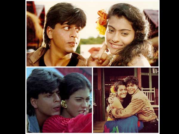 Shahrukh And Kajol In Karan Arjun