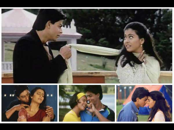 Shahrukh And Kajol In KKHH