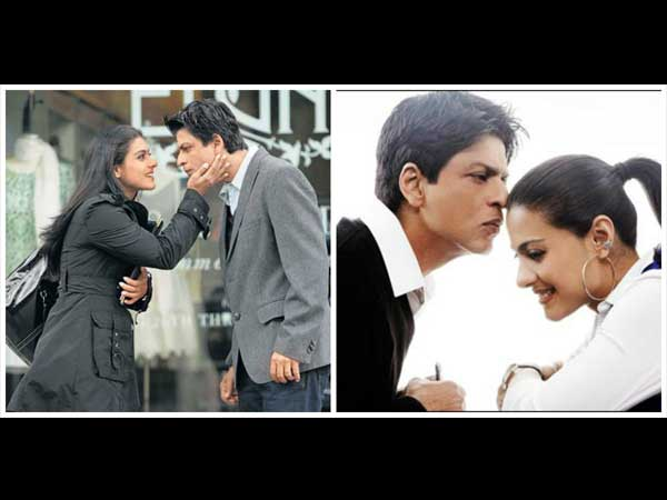Shahrukh And Kajol In MNIK