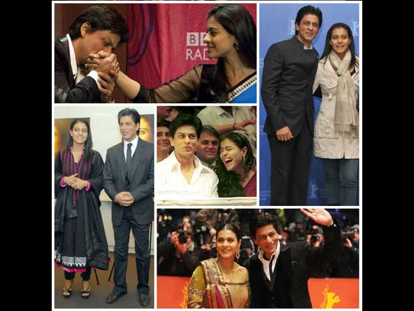 Kajol And Shahrukh At Events