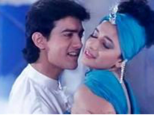 Aamir Khan and Madhuri Dixit