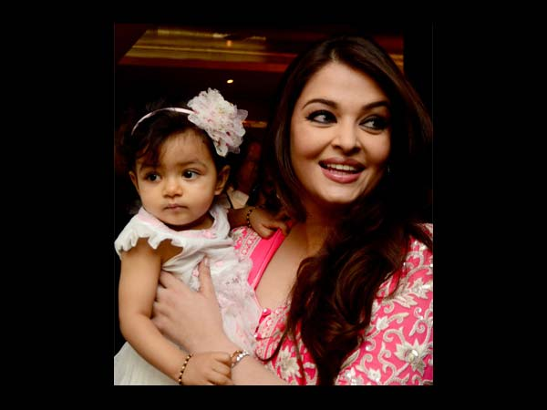 Aish With Aaradhya
