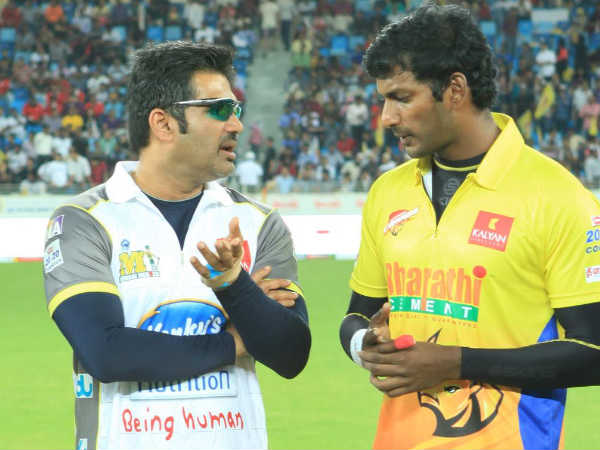 Sunil Shetty With Vishal