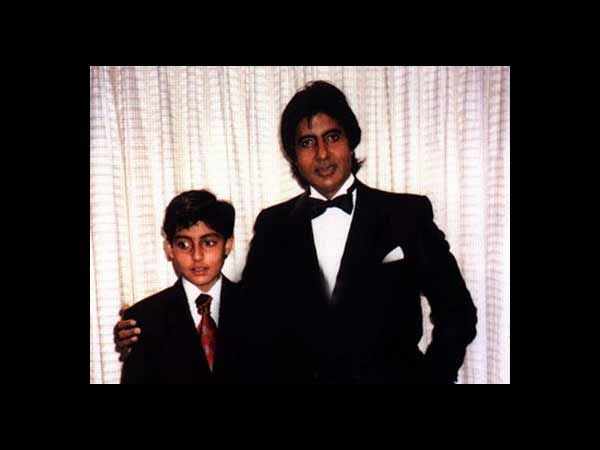 Rare and Unseen childhood pictures of Abhishek Bachchan ... Abhishek Bachan Childhood
