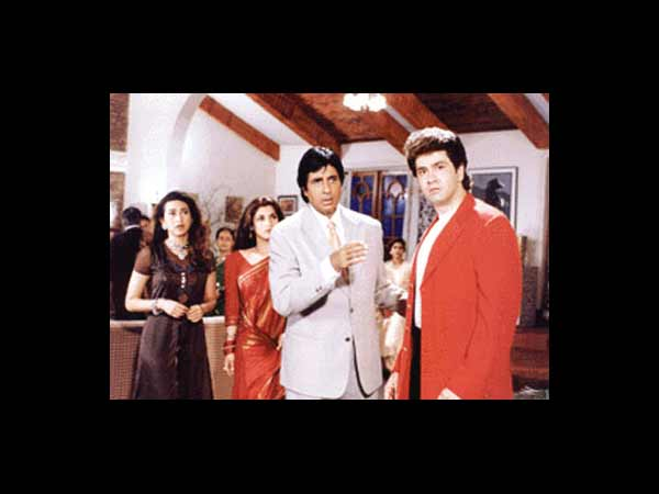 The Bachchans And Karisma Kapoor