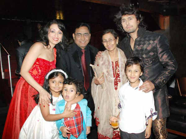 Family photo of the actor musician , married to Madhurima Nigam, famous for Is Kadar Pyar Hai Tumse & Deewana Mere Haath Mein.