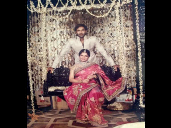 Photos How Vishnu Manchu Celebrates Wedding Anniversary