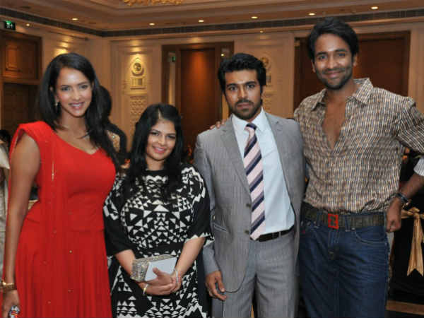 Vishnu Manchu And Veronica