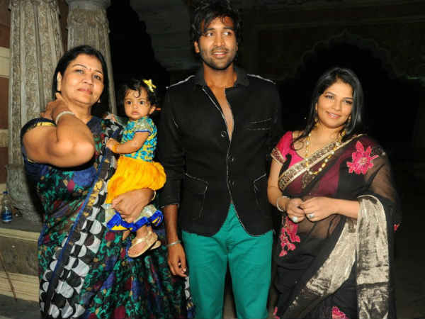 Veronica and Manchu Vishnu