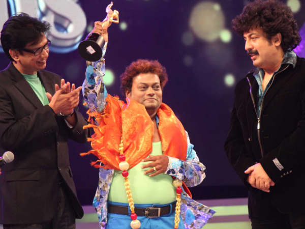 Sadhu With Gurukiran And Vijay Prakash