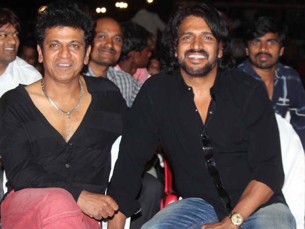 Shivaraj Kumar With Upendra