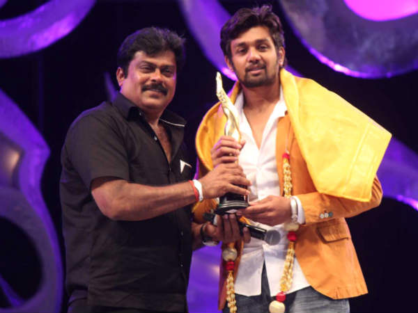 K Manju With Dhruv Sarja