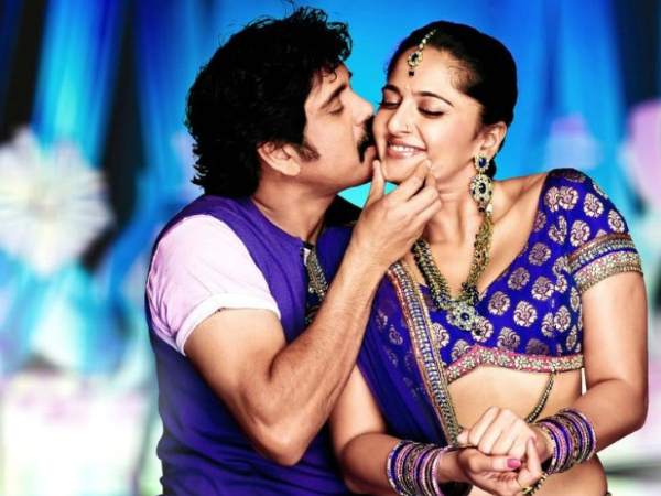 Anushka With Nagarjuna