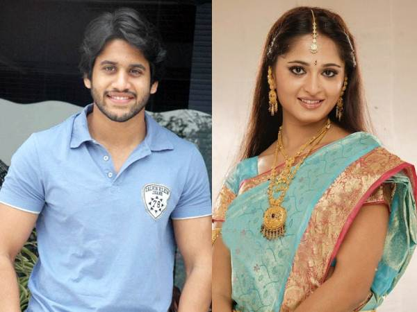 Anushka With Naga Chaitanya