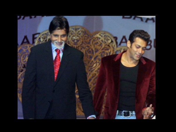 Unseen Pic Of Salman And The Bachchans