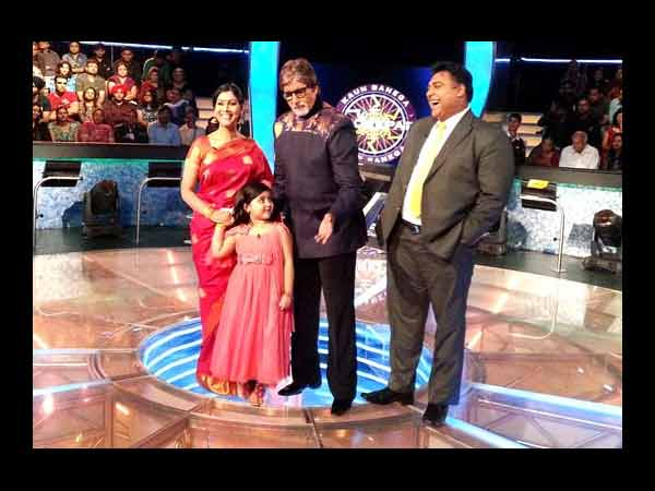 BALH Team On The Sets Of KBC