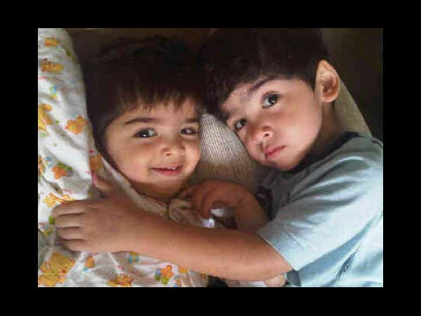 Rare Unseen Pictures Hrithik Roshan Sons Hrehaan