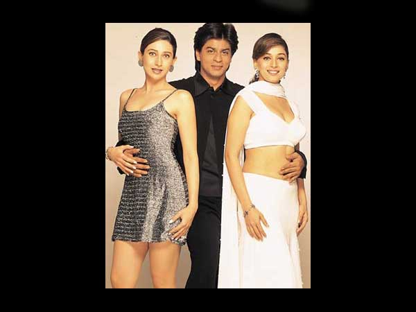 SRK With B-Wood Heroines