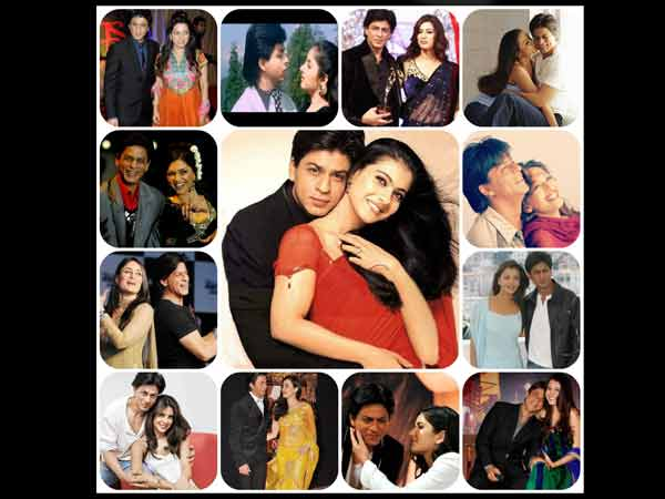 SRK With B'Wood Heroines