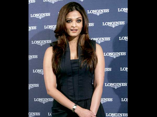 Aish In Black