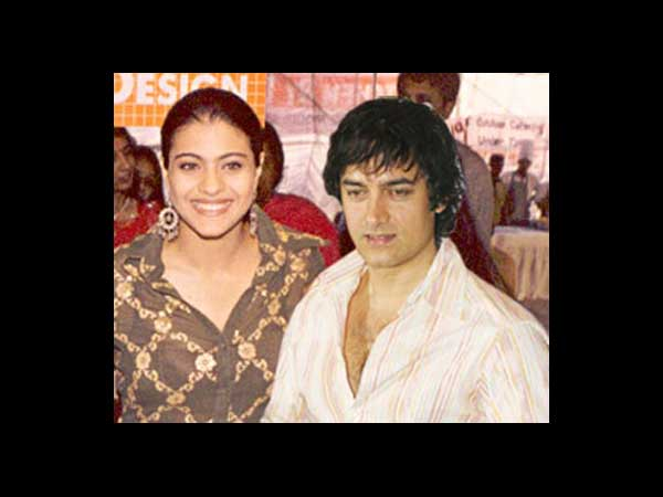 Aamir with Actresses