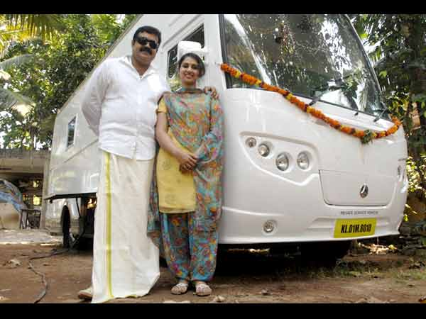 Suresh Gopi With Wife