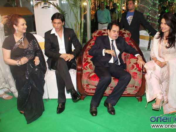 Shahrukh and Dilip Kumar