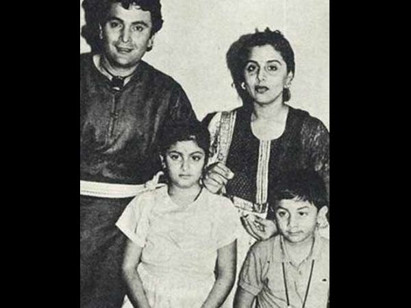 Unseen Picture Of Ranbir And His Parents