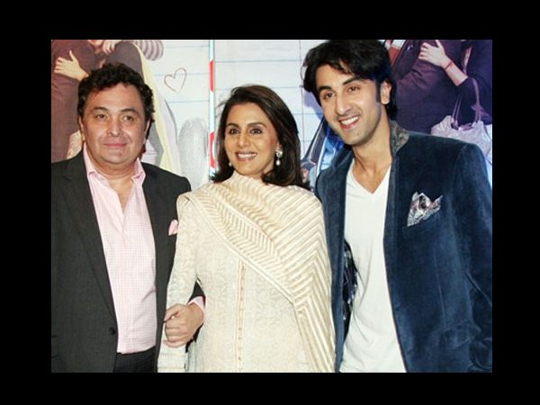 Ranbir Kapoor And His Parents