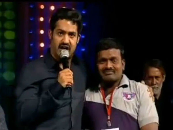 Jr NTR fan dies at Baadshah audio launch