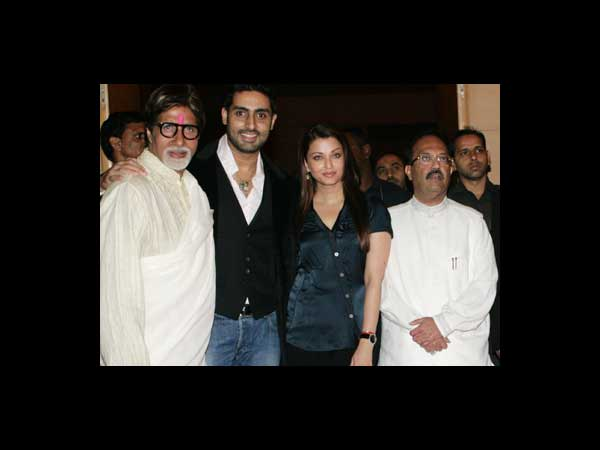 Aish With Abhi, Big B