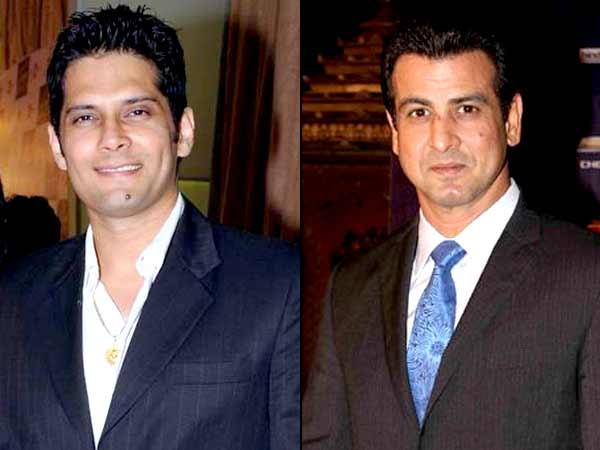Amar Upadhyay and Rohit Roy