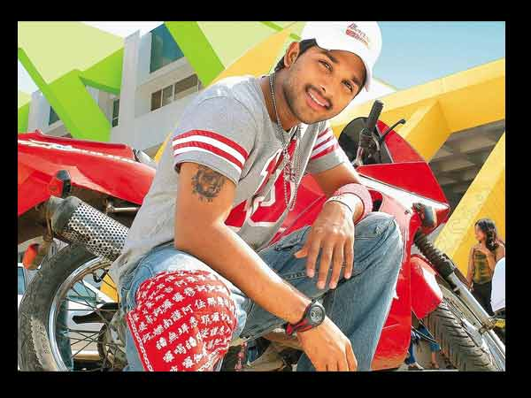 Allu Arjun In Happy