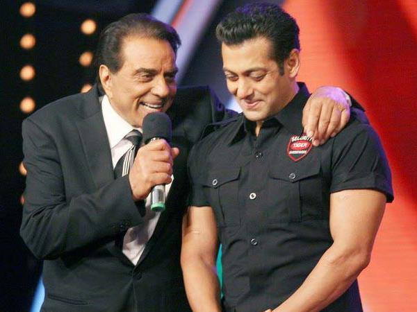 Salman With Actors