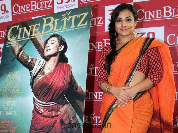 Vidya At Cineblitz Special Issue Launch