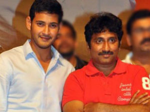 Srinu Vaitla and Mahesh Babu