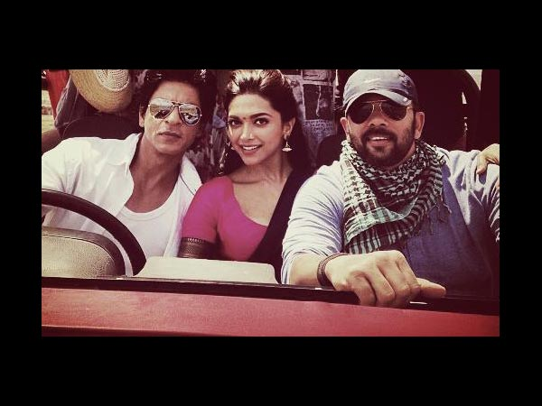 SRK With Deepika, Rohit