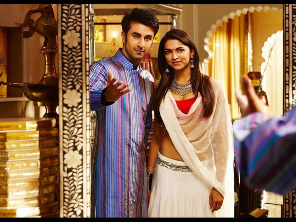 Ranbir With Deepika