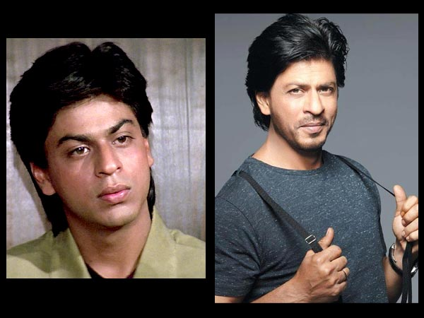 Shahrukh: Then And Now