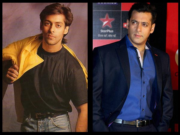 Salman: Then And Now