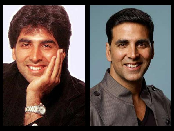 Akshay: Then And Now