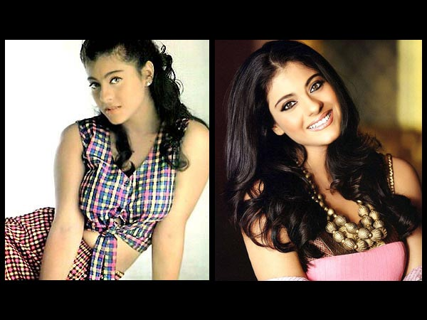 Kajol: Then And Now