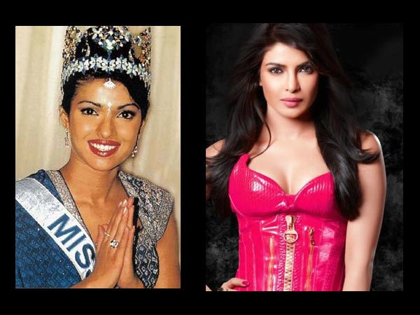 Priyanka: Then And Now