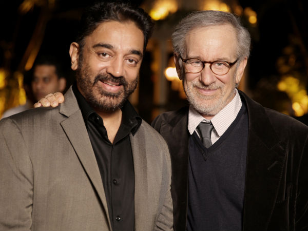 Kamal With Spielberg