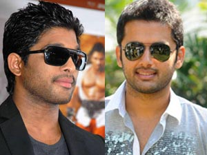 Allu Arjun and Nitin