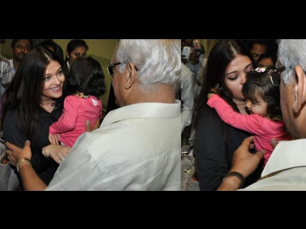 Ash-Aaradhya Returns To India