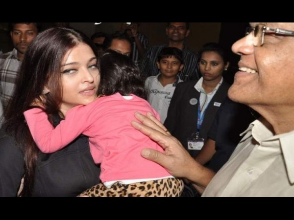 Aish's Daughter Aaradhya