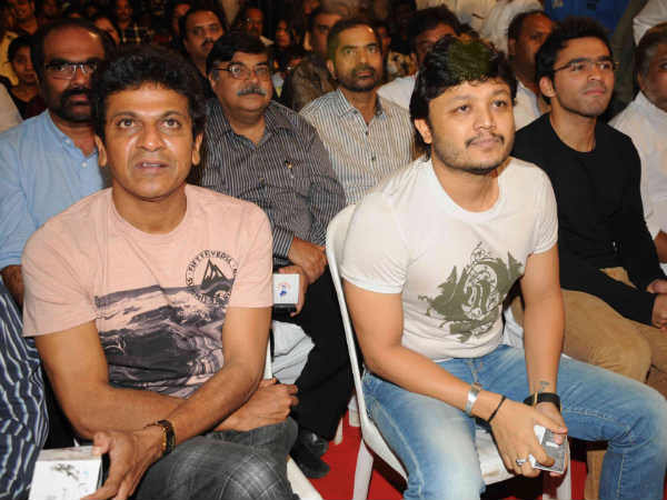 Shivanna With Ganesh