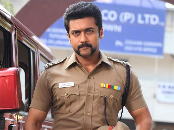 Surya Looked Super In A Police Role