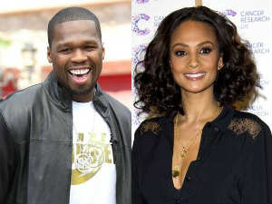 50 Cent and Alesha Dixon